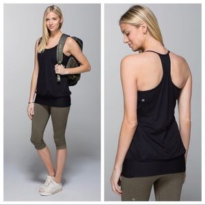 Lululemon No Limit Tank in Black Size 10 EUC